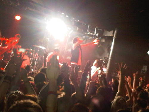You me at six at Rock City  :D