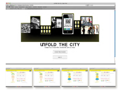 "web design - web coding Title: Unfold the City  Coding experience :)  Interactive Design is so much different from the other design fields. It is almost like a new ""hand-craftmenship"" that every designer should learn. Unfold The City is an interactive smart phone game that user can connect with other users on the street. The user account on their phone is connected to the computer so they can manage it on both devices."