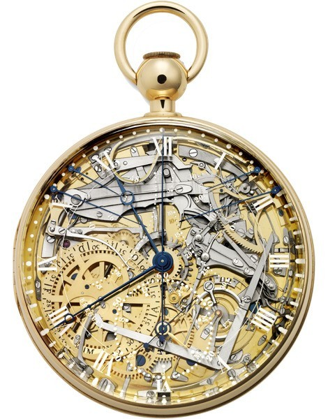 The special Ref. 1160 pocket watch that was a painstakingly made (over three years of work) replica of the original Breguet Marie Antoinette pocket watch that was itself completed in the 1840s after almost 40 years of efforts.