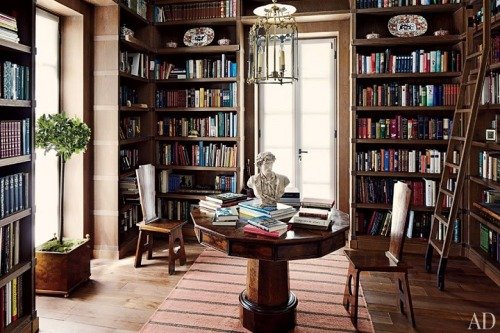 beautiful library