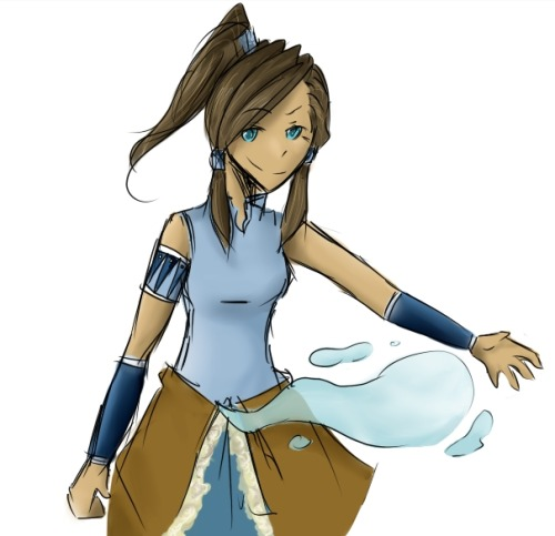 Here's some Korra~ I just like The Legend of Korra so much =u=