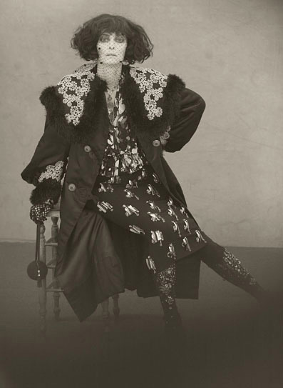 sin-of-ffashion:  Paolo Roversi, Tilda Swinton as Marchesa Luisa Casati