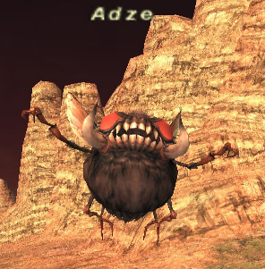 An Adze, as seen in Final Fantasy XI. The Adze were vampires in Ewe/African folklore.  Unlike most batty vampires, these take the form of a firefly when in the wild, and will revert to human form when captured.  In this form, they may possess other humans.  While they didn't directly control those they possessed, the possessed were generally suspected to be witches and ostracized for it, usually by their family or those they were jealous of.  They are arguably worse in firefly form, in which they pass through walls and suck the blood of the sleeping.  They quickly fall ill and die, and there is no defense against it.