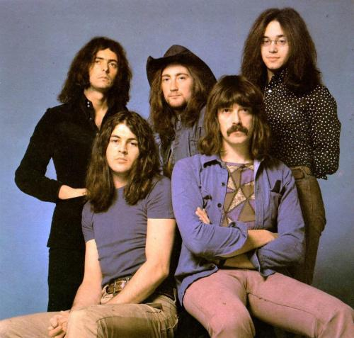 Deep Purple. (Smoke On The Water - Listen here)
