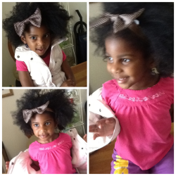 My Daughter…Big Hair don't care!