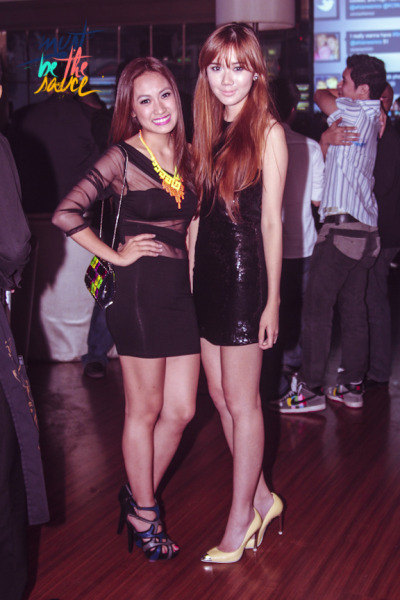Pretty bloggers Laureen Uy and Camille Co
