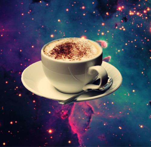 cappuccino on the eagle nebula