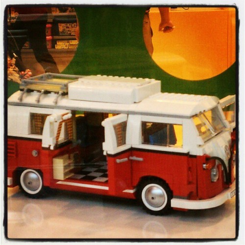 Future tour van. In lego form.  (Taken with instagram)
