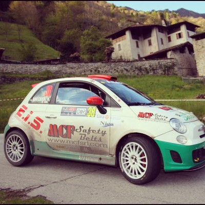 Dal Rally 1000 Miglia. #abarth #500 #rally (Scattata con instagram)