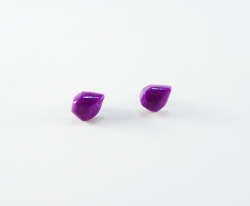 super cute purple studs buy here!