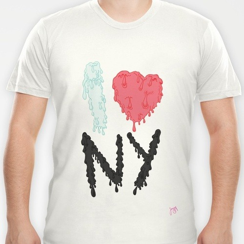 I Heart NY by Jamesydesign Available on @Society6 in many forms :)