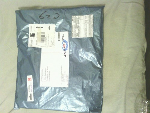 dudesblood:  GUESS WHAT CAME IN THE MAIL FOR DANNY BOY!?!? :D!!!!