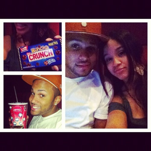 about to watch #thinklikeaman with @supakeith!❤ (Taken with instagram)