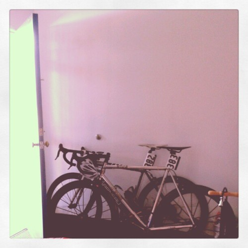 Bikes on bikes on #bikes (Taken with instagram)