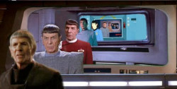 Spock through time…