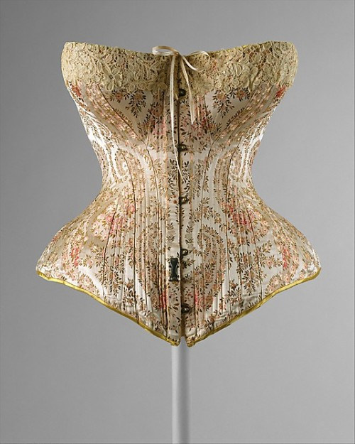 Corset 1891 The Metropolitan Museum of Art