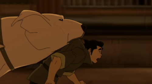 "korrakingdom:  ""I want- to be- on your back!""  OMG so great."