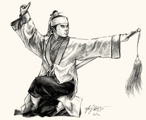 one of my best drawings recently. wushu ftw lol
