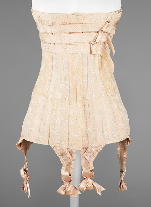 Corset 1912 The Metropolitan Museum of Art