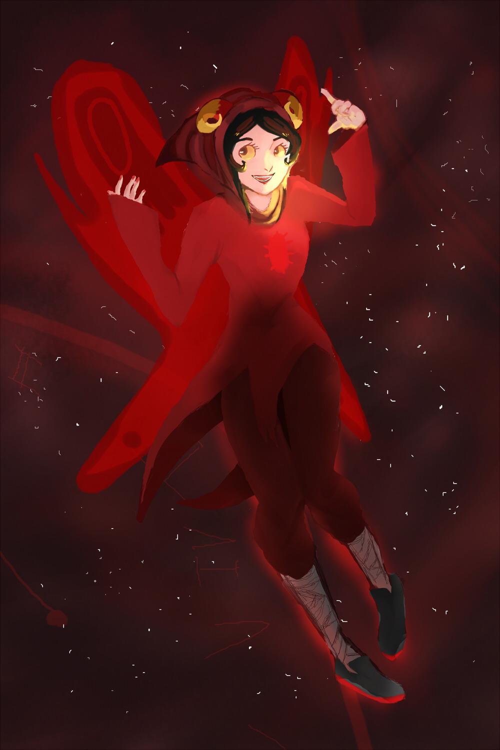 striderex:  aah i finished it! uvu Aradia god tier! my deviantART: http://srtasoul.deviantart.com/