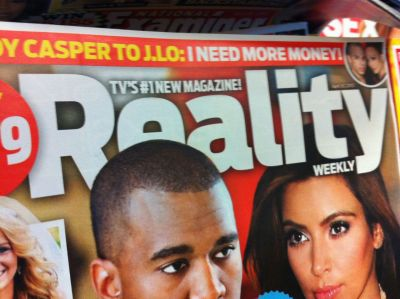 "joshreads:  Very excited that there's a new supermarket tabloid for ontology fans! Really looking forward to their ""categories of being"" summer double issue.  What do you know about Reality?  I am reality.  What do you know about death?  I am death."