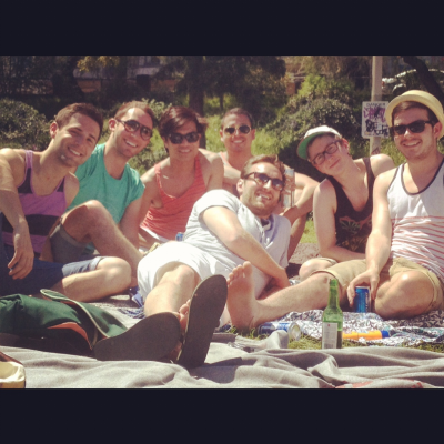 tyleroakley:  With all my gays at the park!