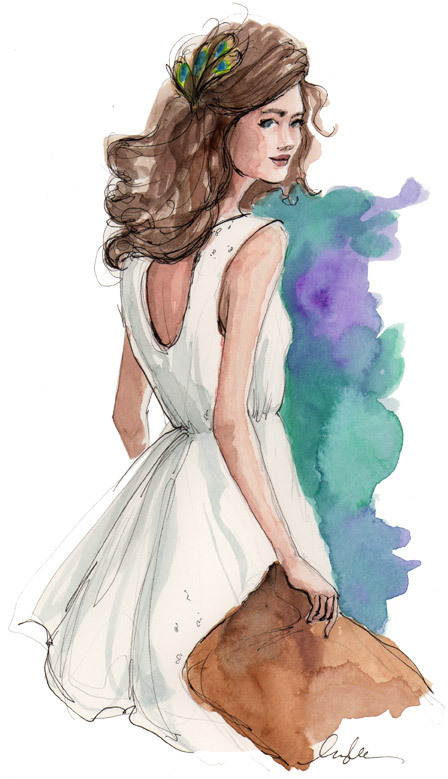evening glam by inslee, more art here