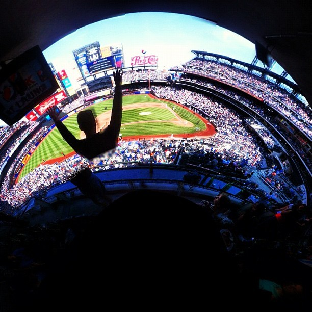 #mets #citifield  (Taken with instagram)