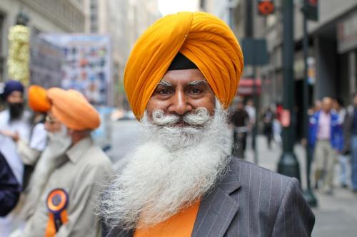 humansofnewyork:  That mustache is so sikh.
