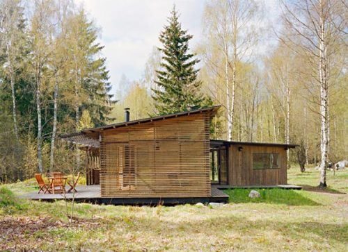 room-of-flint:  (via Summer Cabin Design - Award-winning Wood House by WRB | Modern House Designs)