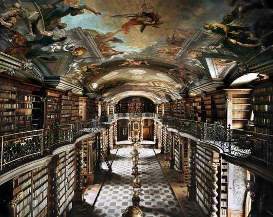 The National Library of the Czech Republic Photo by Ahmet Ertug