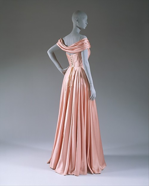 Evening Dress Jacques Fath, 1947 The Metropolitan Museum of Art