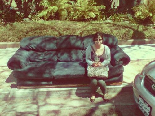 I met a couch today…and it felt right.