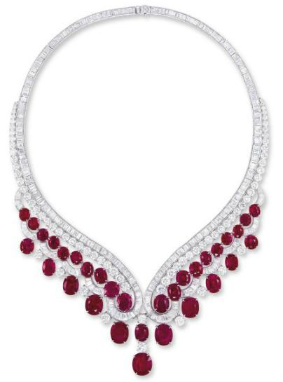 omgthatdress:  Necklace Harry Winston Christie's