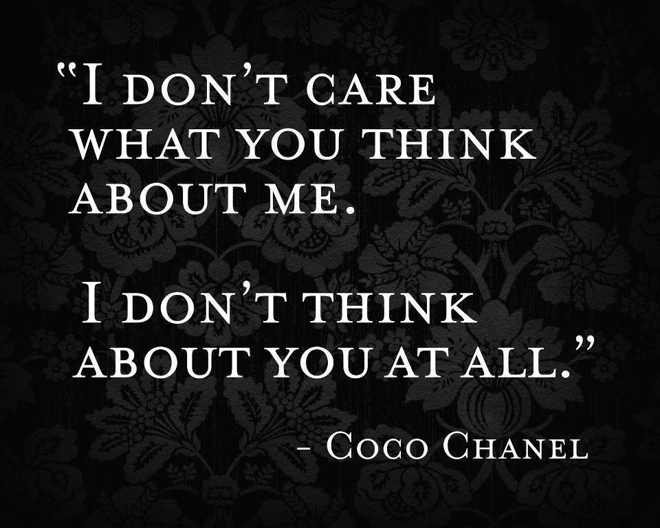 A true thing, said Coco