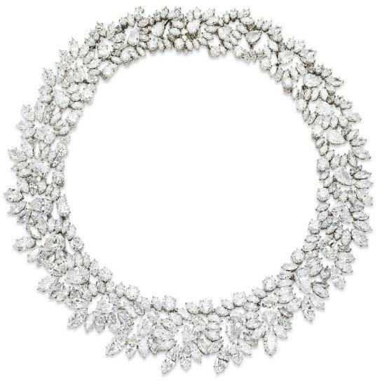 omgthatdress:  Necklace Harry Winston, 1964 Christie's