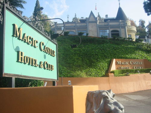 Going to the Magic Castle in Hollywood tonight with my pals D-rocc and Bree. It's going to be so absurd. But so awesome. If you don't know about the Magic Castle, do yourself a favor and find out.
