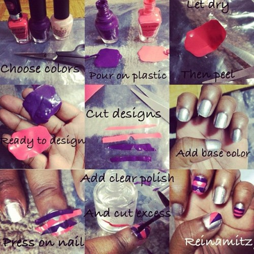 #nailart #nails #design #crafty #artsy #artistic #idea #howto #tutorial #opi #cute #chic #beauty #style #dope #hands #nailpolish #tips #decal #iger #inspired #instahub #instapop #instapop #instagood #instadaily #ne (Taken with instagram)