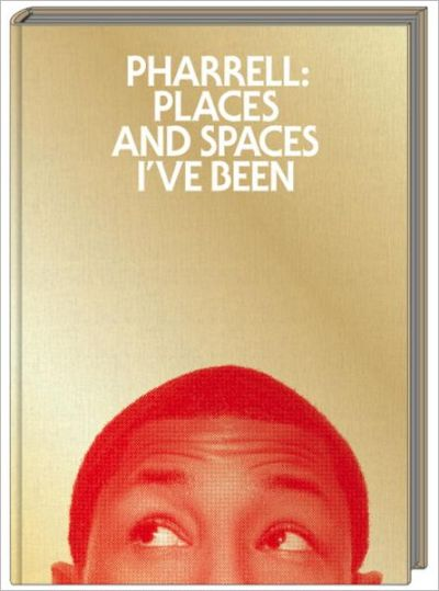 beintheloop:  News: Pharrell Places And Spaces I've Been Cover. Pharrell gives us our first look of the cover of his memoir, which documents his inspirations during his journey around the world. The book drops October 16, but you can pre-order it here.