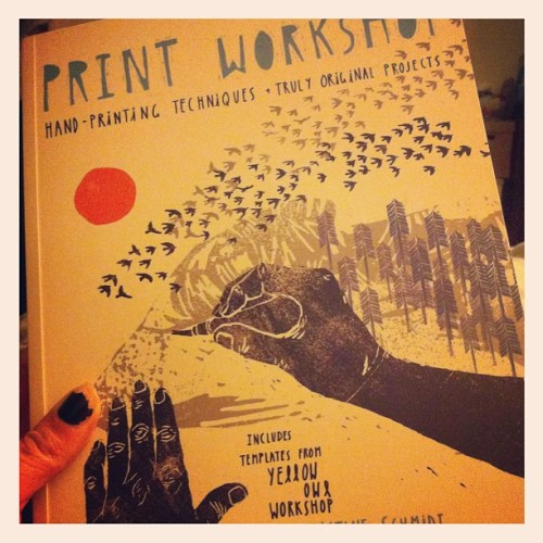 Really glad I bought this book (@yellow_owl_workshop). (Taken with instagram)