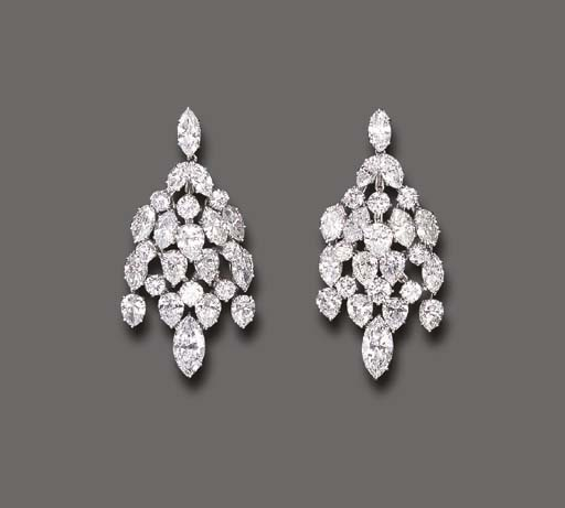 omgthatdress:  Earrings Harry Winston Christie's