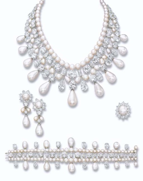 The Gulf Pearl Parure Harry Winston Christie's