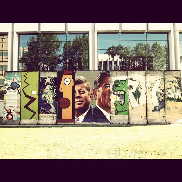 """We are all Berliners, tear down this wall."" (Taken with instagram)"
