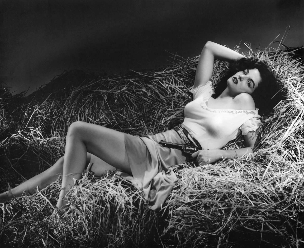 Jane Russell in The Outlaw