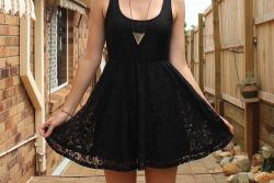 fashion dress lace skirt