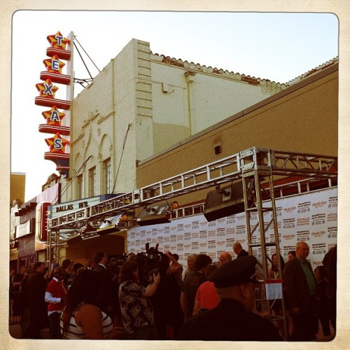 #DIFF Red Carpet in front of @TexasTheatre for #RoboCop! #PeterWeller (Taken with Instagram at Texas Theatre)