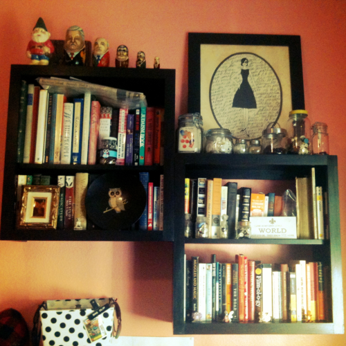 I love my bookshelf :)