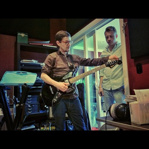 mackryan:  @budo getting it in on the Jaguar! Haha (Taken with instagram)