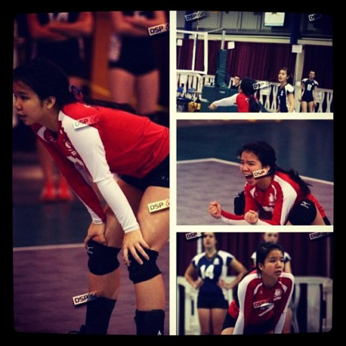 Go hard or go home baby, I went hard. #putinwork #volleyball #vball #instagood #ova #provincials #ovaoc2012 #championships #TWESTGANGORDIE #passion #libero  (Taken with instagram)