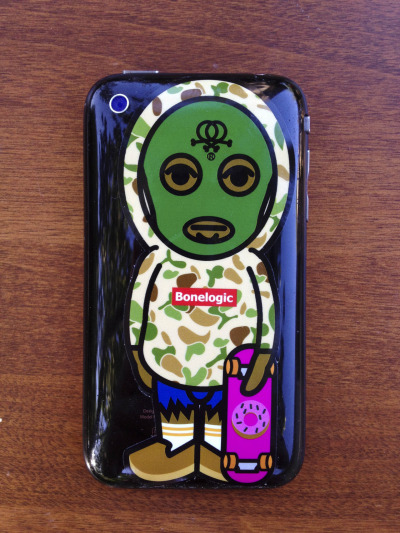 bonelogic:  Tyler the creator X Bonelogic Stickers Series #2 are back! Click here to buy.